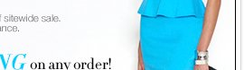 EXTENDED ONE DAY! All Dresses are 30-50% off, plus FREE SHIPPING!