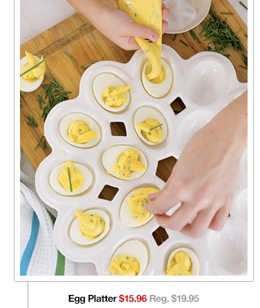 Egg Platter $15.96 Reg. $19.95