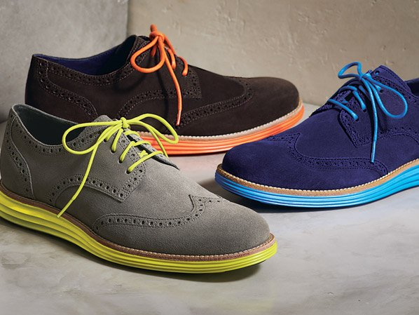 LunarGrand Wingtip with the Nike Sole
