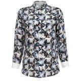 Paul Smith Shirts - Folded Floral Print Silk Shirt
