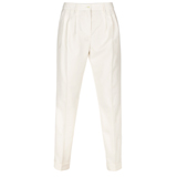 Paul Smith Trousers - Cream Pleated Front Trousers