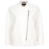Paul Smith Jackets - White Cropped Jacket