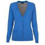 Paul Smith Knitwear - Blue Contrast Back V-Neck Cardigan