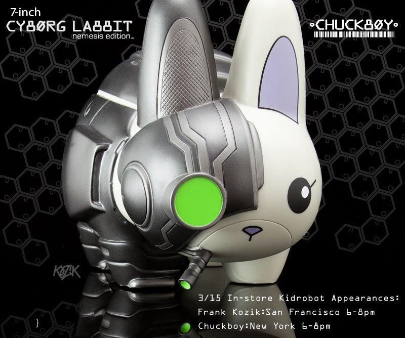 7-inch Cyborg Labbit:Nemesis Edition