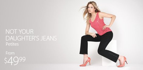 Not Your Daughter's Jeans- Pettites