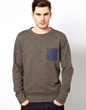 Jack & Jones Sweat with Boat Print