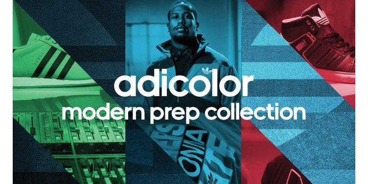 adicolor, modern prep collection