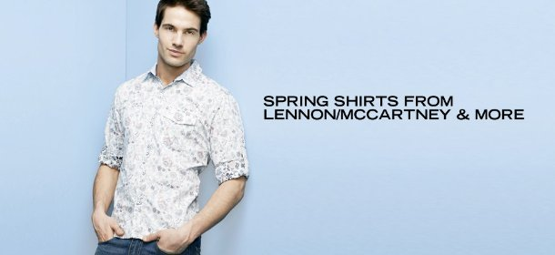 SPRING SHIRTS FROM LENNON/MCCARTNEY & MORE