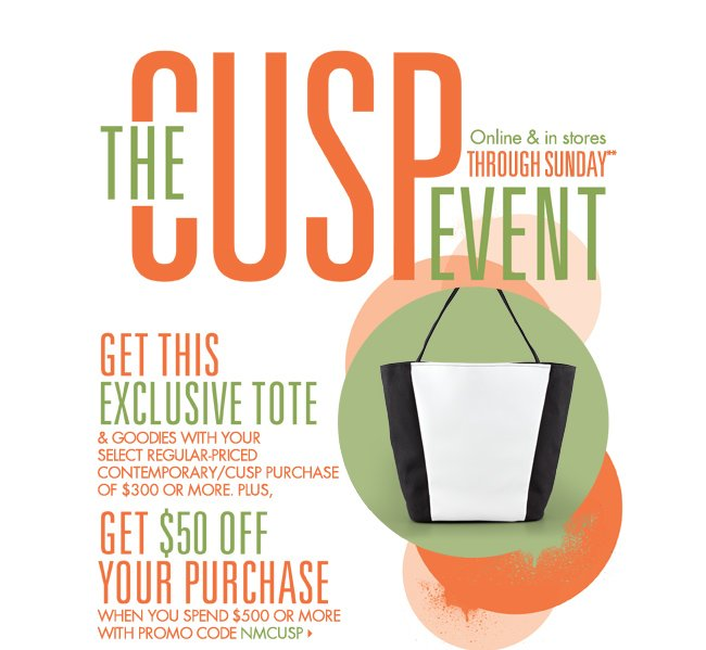 The CUSP Event