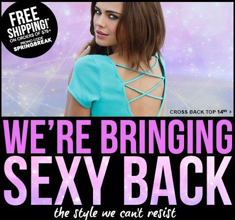 Shop Sexy Backs