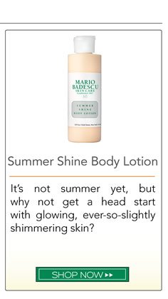 It's not summer yet, but why not get a head start with glowing, ever-so-slightly simmering skin?