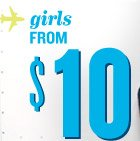 girls FROM $10