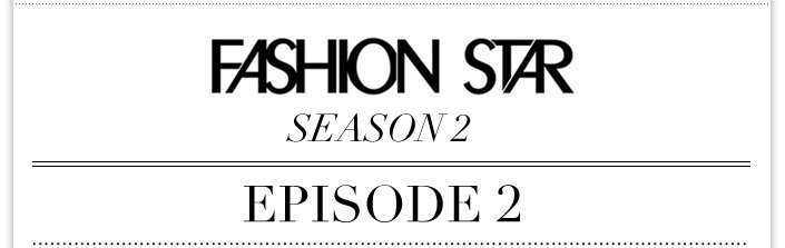 Jessica appears on Fashion Star tonight + Extra 30% OFF Sale. Use code: EXTRA30.