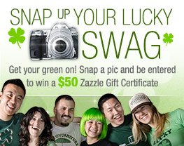 Snap Up Your Lucky Swag!