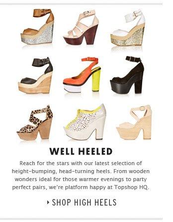 Well Heeled - Shop High Heels