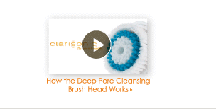 How the Deep Pore Cleansing Brush Head Works >