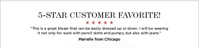 5 star customer favorite!