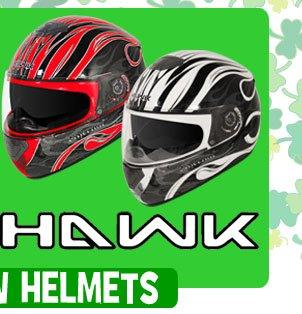 Save on NEW Hawk Full Face Helmets