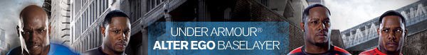 UNDER ARMOUR® ALTER EGO BASELAYER