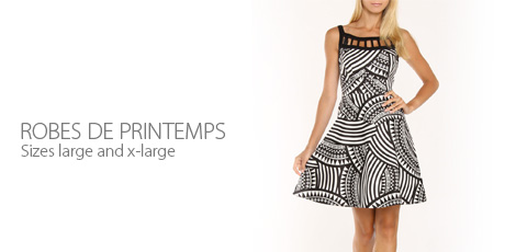 Robes de Printemps (L & XL)