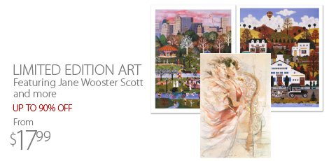 Limited Edition Art: Featuring Jane Wooster Scott and more