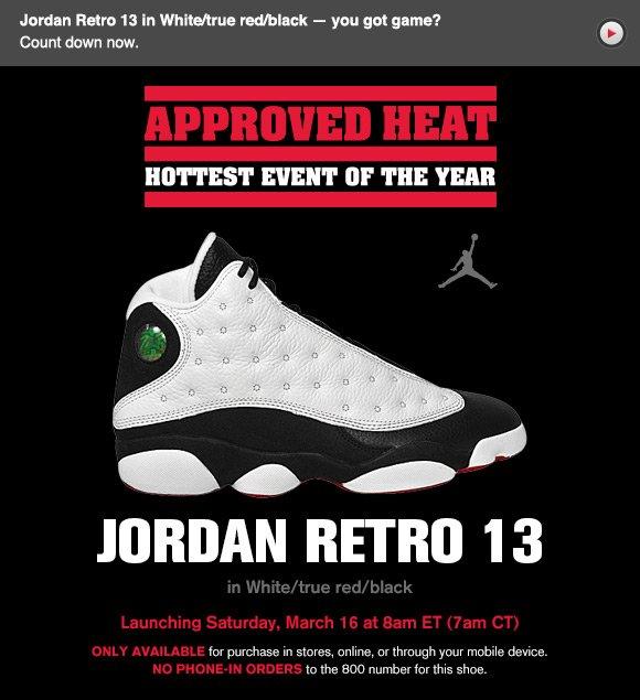 Jordan Retro 13