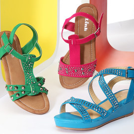 Step To It: Studded Sandals
