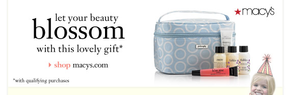 let your beauty blossom with this lovely gift*...