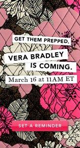 Vera Bradley. Set A Reminder.