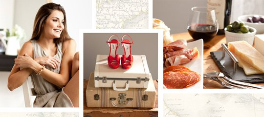 Globetrotting Style:Off to Italy