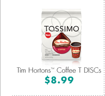 Tim Hortons™ Coffee T DISCs $8.99