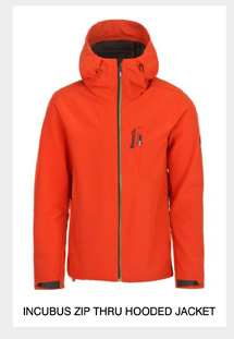 Incubus Zip Thru Hooded Jacket