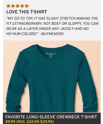 Favorite Long-Sleeve Shirt