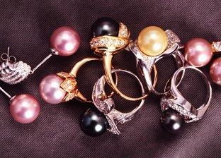 Pearl Earrings & Rings