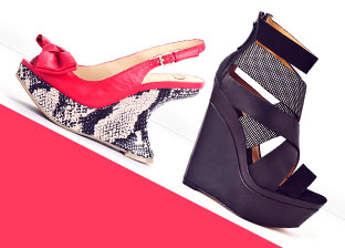 Spring's Top Shoe Trend: Wedged Heels