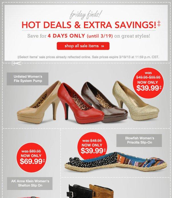 Hot Friday Deals!