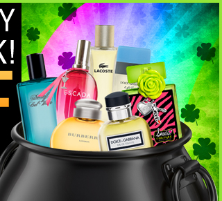 St. Patrick's Day Smell The Luck! 20% OFF Weekend Sale Use Code: Lucky20