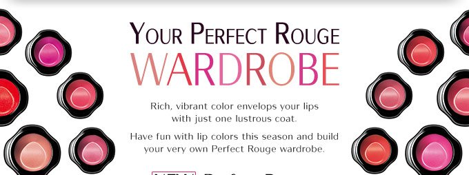 Your Perfect Rouge Wardrobe