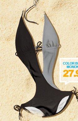 Colorblock Monokini