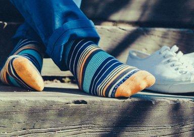 Shop 4-Pack Patterned Socks & More