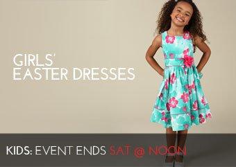 GIRLS' EASTER DRESSES