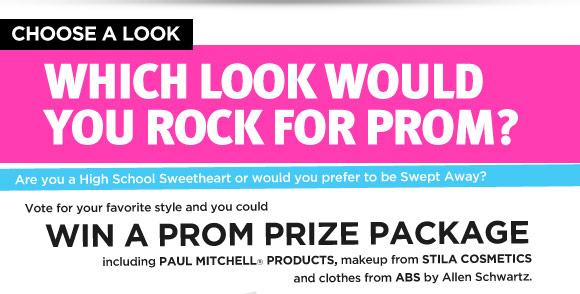 Which Look Would You Rock for Prom?