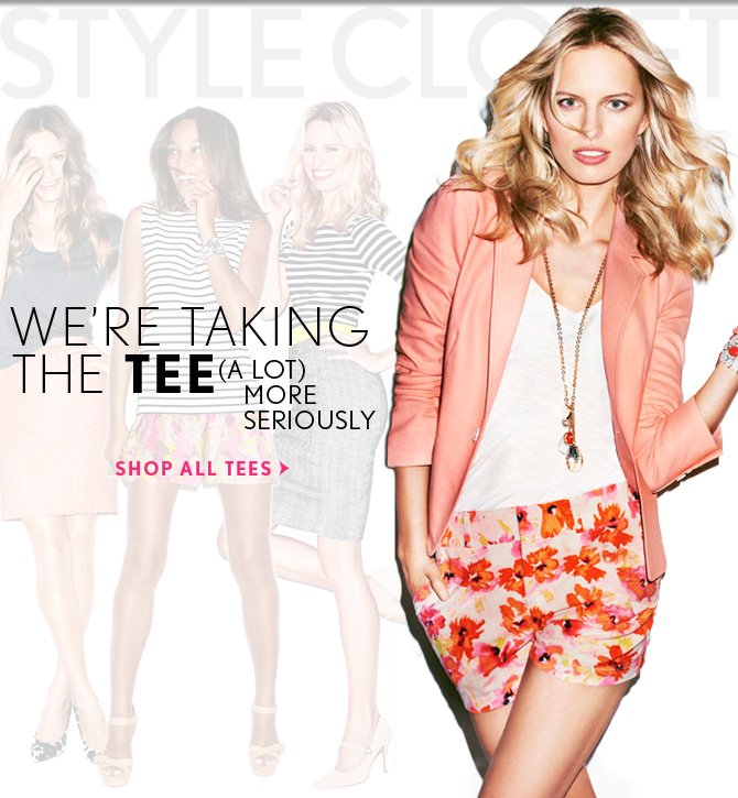 We're taking the tee (a lot) more seriously.  SHOP ALL TEES