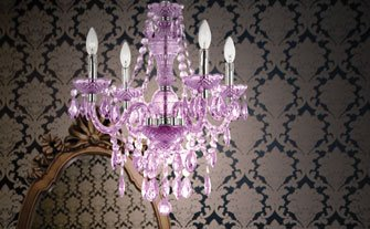Mini Chic Chandeliers - Visit Event