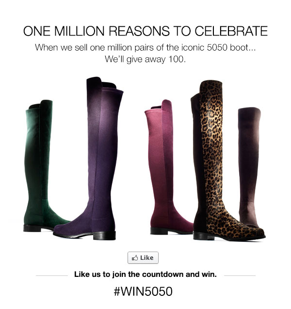 One million reasons to celebrate