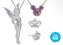 Charm School Girls' Mickey & Tinker Bell Jewelry