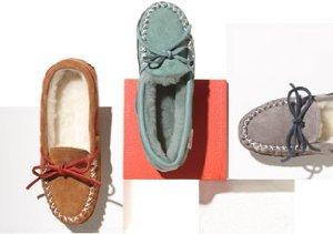 Zerostress Slippers, Moccasins & Booties