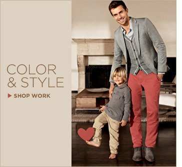 COLOR & STYLE | SHOP WORK