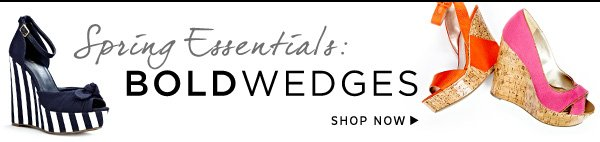 Shop the Wedges Collection