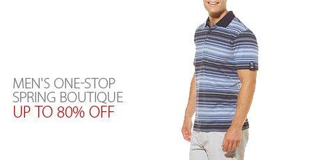 Men's One-Stop Spring Boutique